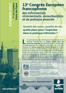 Save the date Avignon 2015