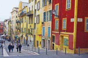 06, Nice,le vieux Nice, Alpes Maritimes, France.
